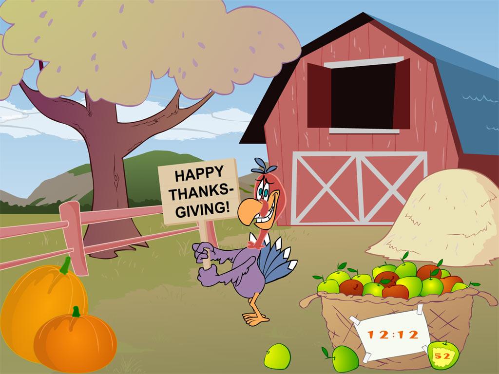 thanksgiving-clock