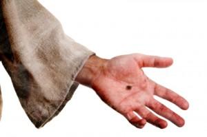 Jesus hand