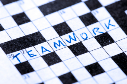 Teamwork crossword