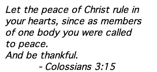 Scripture Memorization, Week 6