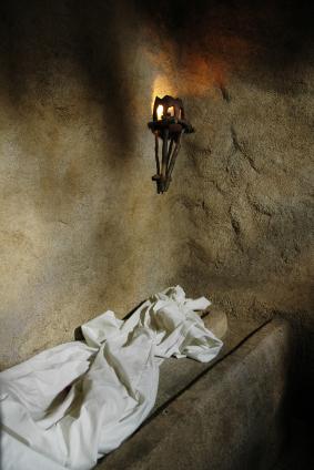 empty garden tomb