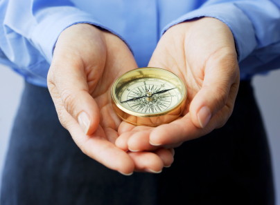 Holding Compass