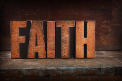 Having to Walk by Faith Lately?
