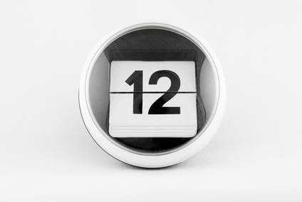 Kalendarz listkowy - 12
