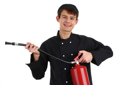 Chef fire fighter