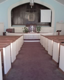 center aisle