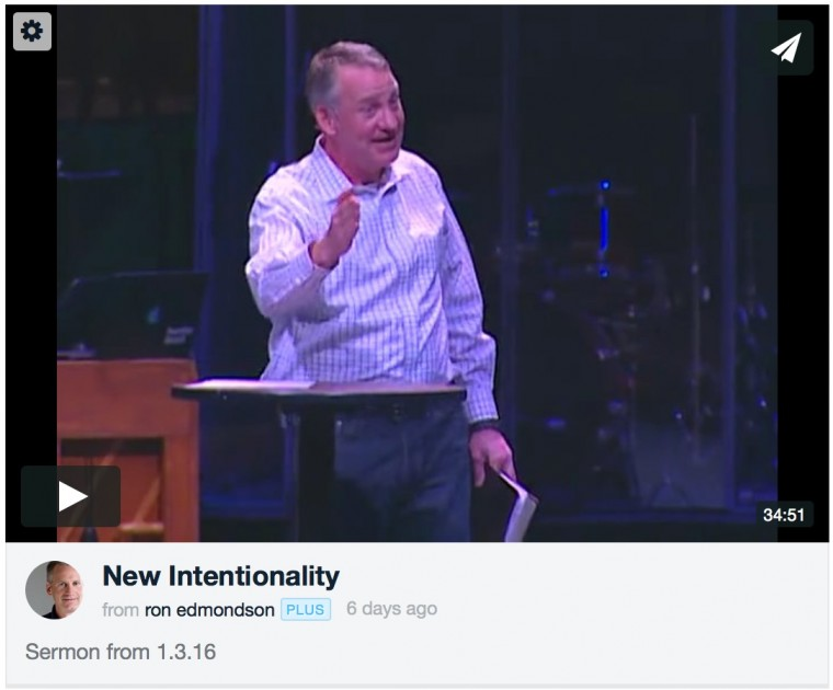 new intentionality